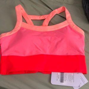 High support sport bra